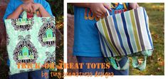 tiny seamstress designs: Trick-or-Treat Tote Tutorial
