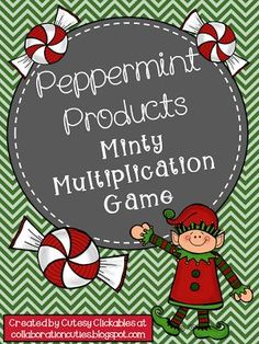 Collaboration Cuties: Free Winter and Holiday Themed Math Games- {Multiplication and Prime and Composite} Multiplication Games, Math Games, Math Activities, Christmas Math, Christmas Activities, Christmas Ideas, Christmas Printables, Christmas Time, Christmas Crafts
