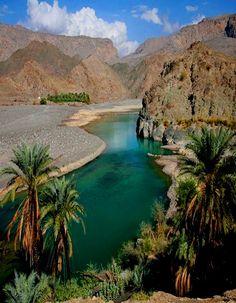ravishing landscape at desert algéria