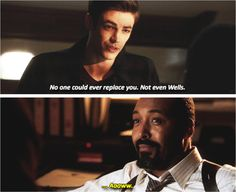 Awww I love Barry and Joe's relationship