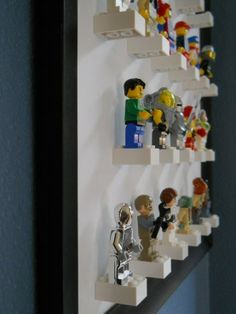 frame lego men // great for a little boys room