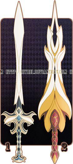 Auction : Weapon Adopt Set 1 [CLOSED] by HyRei on DeviantArt