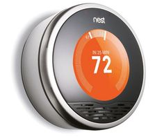 Programmable thermostats help save money by resetting the temperature when homeowners are asleep or away. But setting them up can be painstaking, and 89 percent of users never get them out of manual mode. The Nest thermostat requires almost no setup and teaches itself when to adjust the temperature.
