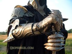 Up close armor detail. I believe this one is from someone's take on Nazgul armor.