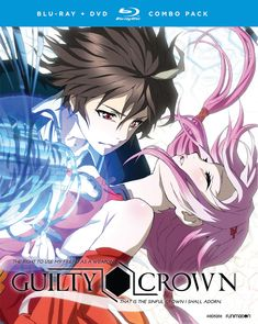 BackAbout Guilty Crown Complete Series Blu-ray/DVD In Guilty Crown, Shu's entire world was shattered after a meteorite crashed into Japan, unleashing the lethal Apocalypse Virus. The chaos and anarchy born of the outbreak cost Shu his family and reduced him to a timid, fearful shell of the boy he'd once been. His life took another unexpected turn after a chance encounter with the stunning pop star, Inori. This mysterious beauty introduced Shu to the King's Right Hand: a genetic mutation…