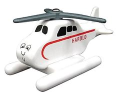 Learning Curve Thomas & Friends Wooden Railway - Harold The Helicopter - Tomas