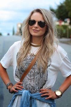 tiger print t shirt dress- Andrea Clare