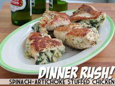 Artichoke n chicken, my family will devour this!! Mdb