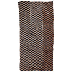 Tibetan Checkerboard Tsutruk Khaden | From a unique collection of antique and modern chinese and east asian rugs at https://www.1stdibs.com/furniture/rugs-carpets/chinese-rugs/