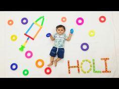 Holi Theme, Holi Photo, Monthly Baby Photos, Boy Photo Shoot, Festival Photography, Baby Boy Photography, Boy Photos, Baby Milestones, Baby Month By Month