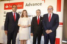 Santander destina 4.400 millones de crédito a las pymes de Andalucía dentro de su programa Santander Advance (13/06/14) http://bsan.es/1kveGy0