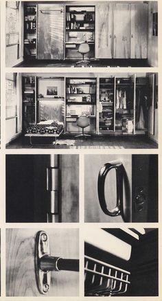 Eames Contract Storage, by Charles and Ray Eames, 1961 to 1966 for Herman Miller