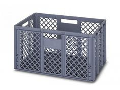 66 Litre Ventilated Perforated Euro Plastic Stacking Container - Stackable Storage Box