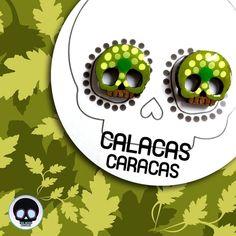 Si eres amante de la #Naturaleza  tienes que tener estos hermosos zarcillos pintados a mano en tonos verdes  #CalacasCaracas  Pedidos vía whatsapp [ver perfil]