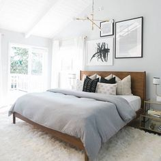 6 Authentic Cool Ideas: Minimalist Interior Living Room Chairs minimalist home scandinavian couch.Minimalist Interior Living Room Simple minimalist home ideas kitchens. Small Bedrooms, Guest Bedrooms, Modern Bedrooms, Master Bedrooms, Small Modern Bedroom, White Bedrooms, Mid Century Modern Bedroom, Small Master Bedroom, Modern Bedroom Design