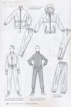 Japanese book and handicrafts - Guid to Fashion Design by bunka fashion coollege Pants Drawing, Drawing Clothes, Fashion Design Drawings, Fashion Sketches, Fashion Books, New Fashion, Fashion Flats, Bunka Fashion College, Flat Sketches
