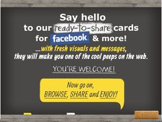 Check out our cards collection! Halloween 2013, For Facebook, Nerdy Things, Say Hello, Infographic, Messages, Make It Yourself, Sayings, My Love