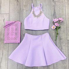 Pastel lavender outfit ♡
