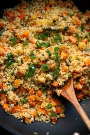 Cooking Pinterest: Easy Fried Rice Quinoa Recipe