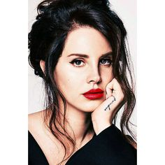 SHEEZUS ❤ liked on Polyvore featuring people, faces, hair, lana del rey and pictures