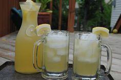 California Cowboy: Lemonade and beer. 1:1 equal parts lemonade and beer.