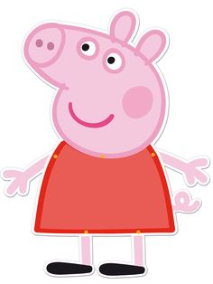 Decorate your Peppa Pig birthday party with this Peppa Pig animated figure from PartyWeb.us, the online store with the widest Peppa Pig party supplies catalogue. Peppa Pig decorations for funny Peppa Pig birthday parties. Get ready for a Peppa Pig party. Peppa Pig Pinata, Cumple Peppa Pig, Familia Peppa Pig, Peppa Pig Wallpaper, Peppa Pig Imagenes, Peppa Pig Printables, Peppa Pig Party Supplies, Pig Images, George Pig