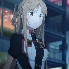 Asuna de Sword Art Online (animé) Sword Art Online Cosplay, Sword Art Online Kirito, Online Anime, Online Art, Asuna Sao, Sao Anime, Alice, Kawaii Anime Girl, Anime Girls