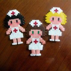 Nurses hama beads by meerrcediitass