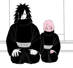 Madara and Sakura