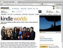 "Amazon's ""Kindle Worlds"" lets fan fiction writers sell their stories"