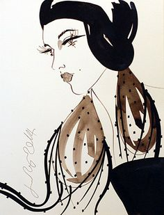 Jane Ryan 'Portrait of a Girl' Street Gallery, Ink Pen Drawings, Irish Art, Vogue Australia, Textile Design, Street Art, Portrait, Disney Characters, Illustration