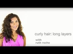 Long Layered Curly Cut   Laura - YouTube