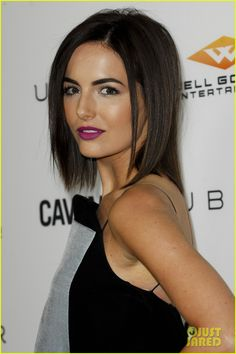 Camilla Belle attends the premiere of her new movie Cavemen on Wednesday (February 5) at the ArcLight in Hollywood.