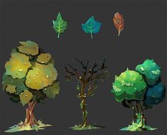 Tree concepts for the upcoming game Along Together by Turbo Button! #art #drawing #sketch #speedpaint #digitalart #wacom #cintiq #photoshop #vancouver #canada #illustration #beautiful #picture #artist #instaart #photooftheday #creative #instagood #picture #forest #conceptart #game #gameart #trees