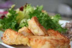 Куриное филе в панировке из пармезана