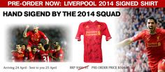 Pre-order your #Liverpool Signed Squad Shirt 2014 before they sell out https://www.premiersportsmemorabilia.com/football/premier-league/product/64-liverpool-signed-squad-shirt-2013-14.html