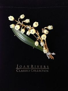 JOAN-RIVERS-LILY-OF-THE-VALLEY-PIN-BROOCH