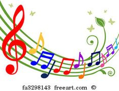 Free art print of Set of Musical Notes Illustration - in vector. Music Crafts, Music Decor, Art Music, Musik Clipart, Indian Musical Instruments, Colorful Notes, Saint Matthew, Music Symbols, Free Art Prints