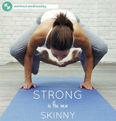 Strong is the new skinny! What are you going to do this Workout Wednesday?!   https://www.facebook.com/photo.php?fbid=10151859381265558=a.95310280557.107337.53102340557=1