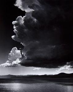 "wasbella102: ""  Ansel Adams - Thundercloud, Lake Tahoe ""                                                                                                                                                     More"