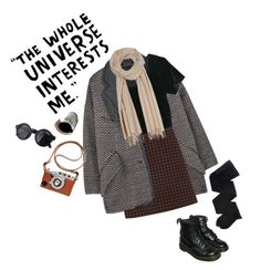 """""""time to save the universe"""" by junk-food ❤ liked on Polyvore featuring mode, Isabel Marant, Mulberry, Gerbe, ...Lost et Dr. Martens"""