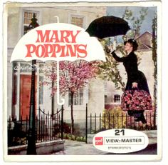 Disney's Mary Poppins Viewmaster reels