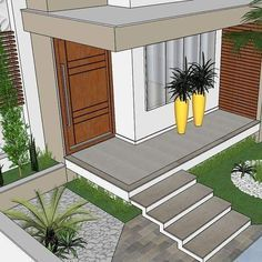 48 Ideas Exterior Modern House Colors Porches in 2020 Modern House Colors, Modern Paint Colors, Paint Colors For Home, Modern House Design, Best Exterior Paint, Exterior Paint Colors For House, Modern Exterior, Exterior Design, House Columns