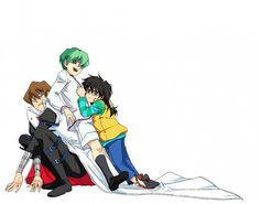 Tags: Anime, Yu-Gi-Oh!, Kaiba Seto, Kaiba Mokuba, Kaiba Noa, Studio Gallop, Yu-Gi-Oh! Duel Monsters