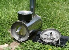 Titanium Goat Wood Stove for Backpacking Shelters.