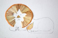 So creative: Pencil Sharpening Lions by Hazel Terry
