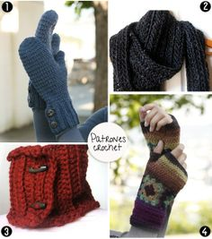 patrones crochet by DIY & accessories
