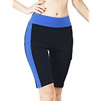 18495065c2e ABUSA Women s Active Fitness Pocket Running Tummy Control Workout Bike Yoga  Non See-through Shorts   For more information