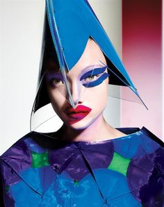 Yumi Lambert by Richard Burbridge for 10 Magazine Spring Summer 2015 2