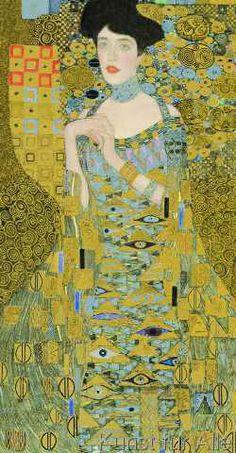 Gustav Klimt - A. Bloch-Bauer I